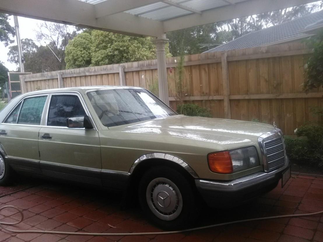1984, Mercedes-Benz S-Class