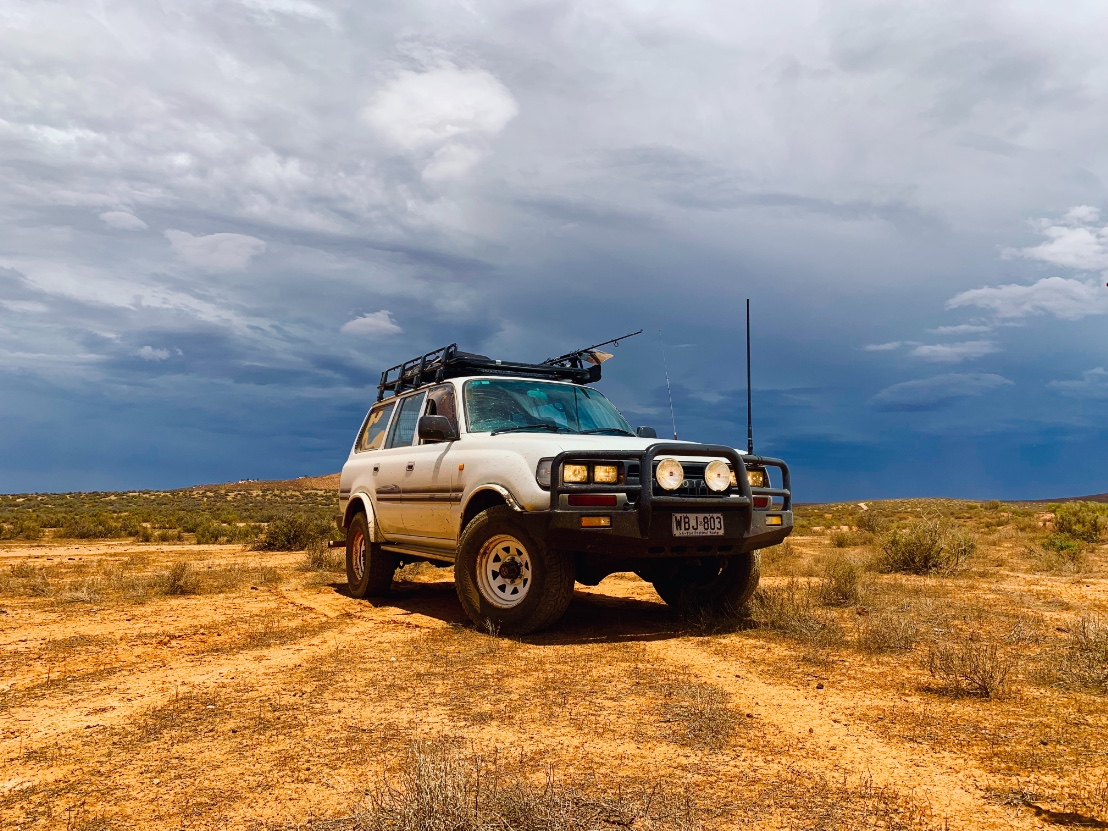 1993, Toyota Land Cruiser