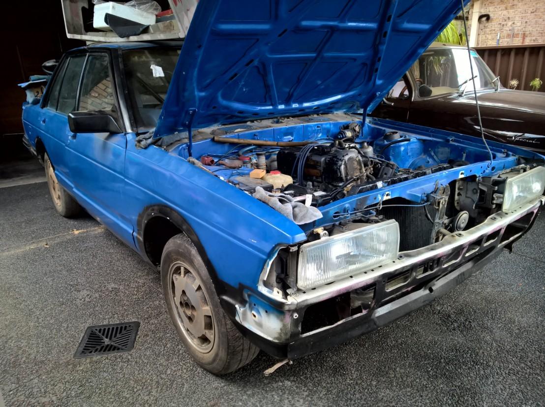 1984, Nissan Bluebird