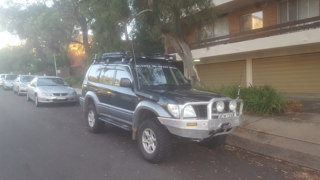 2000, Toyota Land Cruiser Prado